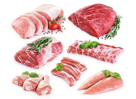 Vlees, Kip, Vis